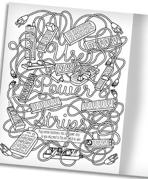 Energy Efficiency: A Coloring Book For Grown-Ups
